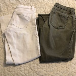 Lot of two express legging jeans size 4